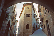 SPAIN, NORTH, NAVARRA the medieval town of Sos del Rey Catolico on the Route of Santiago (Saint James), southeast of Pamplona