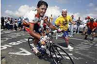 CYCLING - TOUR DE FRANCE 2004 - STAGE 13 - LANNEMEZAN > PLATEAU DE BEILLE - 17/07/2004 - PHOTO : NICO VEREECKEN / DIGITALSPORT<br />