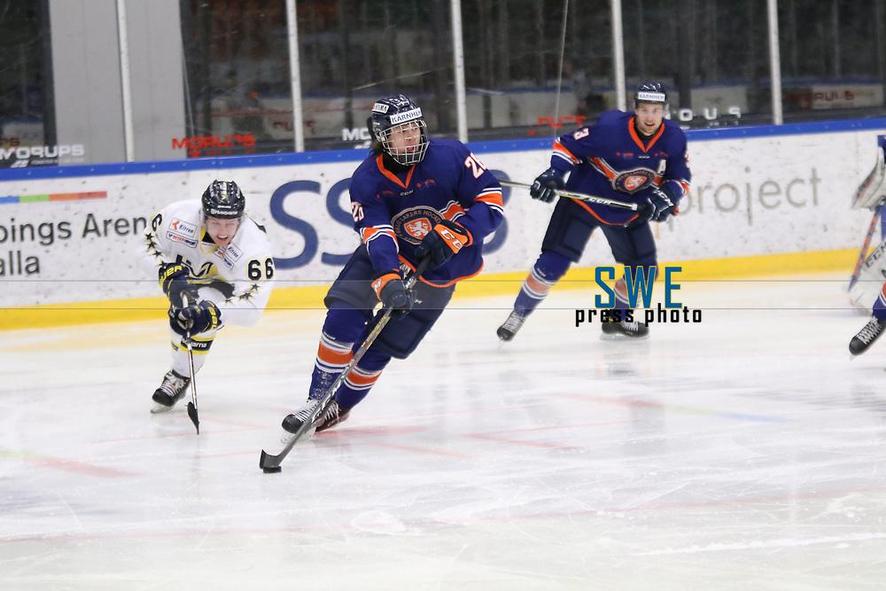 2018-04-02 | Nyk&ouml;ping, Sweden: V&auml;xj&ouml; Dominik Bokk (26) during the game between V&auml;xj&ouml; and HV71 at Nyk&ouml;pings Arenor ( Photo by: Fredrik Sten | Swe Press Photo )<br /> <br /> Keywords: Icehockey, Nyk&ouml;pings Arenor, Nyk&ouml;ping, J20, V&auml;xj&ouml;, HV71, playoffs, playoff, gold, gold-game, Junior, SM, JSM, Junior-SM, goldmedal, medal