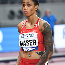 Doha, IAAF, Leichtathletik, athletics, Track and Field, World athletics Championships 2019  Doha, Leichtathletik WM 2019 Doha, 27.09-06.10.2019, .Khalifa International Stadium Doha, Salwa Eid Naser Bahrain 400m Frauen,  , Fotocopyright Gladys Chai von  der Laage ..Photo by Icon Sport - Salwa Eid NASER - Khalifa International Stadium - Doha (Qatar)