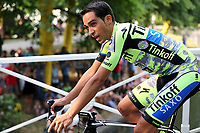 CONTADOR Alberto (ESP) Tinkoff Saxo Bank, during the 102nd Tour de France, Team Presentation, in Utrecht, Netherlands, on July 2, 2015 - Photo Tim de Waele / DPPI