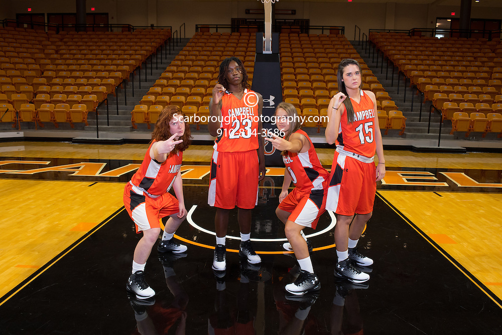 BUIES CREEK, NC - Campbell University Women Basketball Portraits