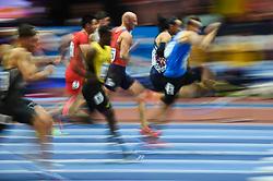 March 4, 2018 - Birmingham, England, United Kingdom - Petr Svoboda ofCzech Republic at  60 meters hurdles at World indoor Athletics Championship 2018, Birmingham, England on March 4, 2018. (Credit Image: © Ulrik Pedersen/NurPhoto via ZUMA Press)