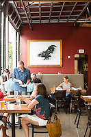 Lincoln, a fine dining establishment in Northeast Portland, Oregon, known for handmade pasta.