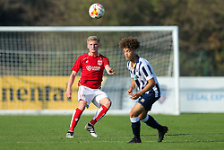 Taylor Moore of Bristol City U23 in action - Rogan Thomson/JMP - 31/10/2016 - FOOTBALL - SGS Wise Campus - Bristol, England - Bristol City U23 v Millwall U23 - U23 Professional Development League 2 (South Division).