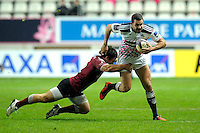Geoffrey Doumayrou - 11.12.2014 - Stade Francais / Newcastle Falcons - European Rugby Challenge Cup<br />Photo : Andre Ferreira / Icon Sport