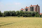 Nederland, Nijmegen, 27-7-2013Appartementen in de nieuwe wijk bij Oosterhout in de Waalsprong.Foto: Flip Franssen/Hollandse Hoogte