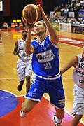 DESCRIZIONE : Biella Lega A 2011-12 Angelico Biella Banco di Sardegna Sassari<br /> GIOCATORE : Mauro Pinton<br /> SQUADRA : Banco di Sardegna Sassari<br /> EVENTO : Campionato Lega A 2011-2012 <br /> GARA : Angelico Biella Banco di Sardegna Sassari<br /> DATA : 03/01/2012<br /> CATEGORIA : Penetrazione Tiro<br /> SPORT : Pallacanestro <br /> AUTORE : Agenzia Ciamillo-Castoria/ L.Goria<br /> Galleria : Lega Basket A 2011-2012  <br /> Fotonotizia : Biella Lega A 2011-12 Angelico Biella Banco di Sardegna Sassari<br /> Predefinita :