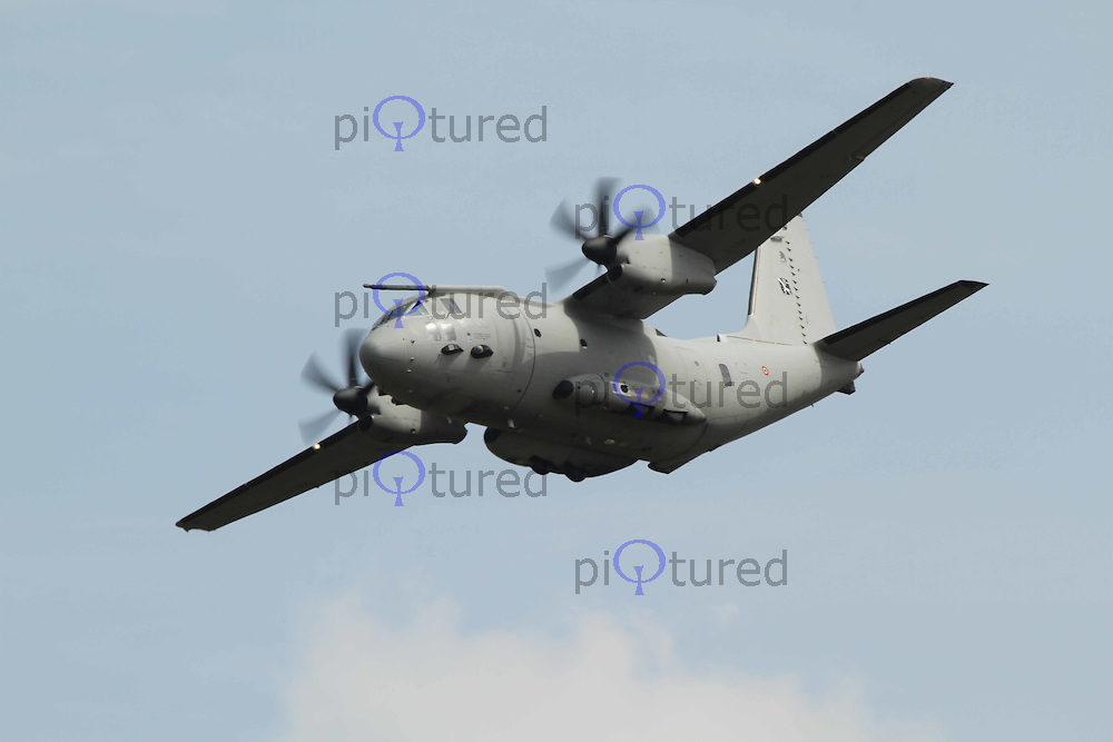C-27 Spartan Italian Air Force The Royal International Air Tattoo, RAF Fairford, UK, 15 July 2011:  Contact: Rich@Piqtured.com +44(0)7941 079620 (Picture by Richard Goldschmidt)