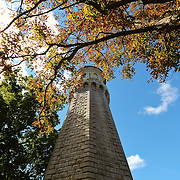 """""""Fall Unto the Light""""<br /> <br /> The beautiful stone architecture of the Lighthouse at Old Fort Niagara in Youngstown New York. Located on Lake Ontario.<br /> <br /> Lighthouses of the Great Lakes by Rachel Cohen"""