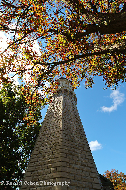 &quot;Fall Unto the Light&quot;<br /> <br /> The beautiful stone architecture of the Lighthouse at Old Fort Niagara in Youngstown New York. Located on Lake Ontario.<br /> <br /> Lighthouses of the Great Lakes by Rachel Cohen