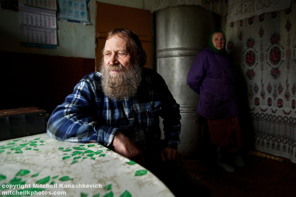 "The man is a priest in an ""Old Russian Orthodox"" faith"