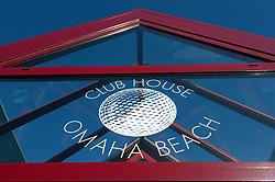 NORMANDY, FRANCE - MAY-01-2007 - Omaha Beach Golf Club - The Club House entrance. (Photo © Jock Fistick)
