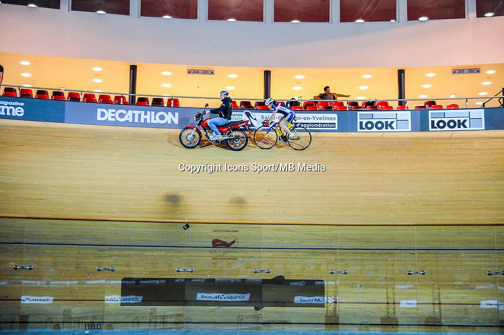 Clair Sandie - 27.01.2015 -Entrainement Equipe de France de cyclisme sur piste - Saint Quentin en Yvelines <br />Photo : Anthony Dibon / Icon Sport