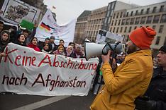 Protest against deportations to Afghanistan 10 Dec 2016