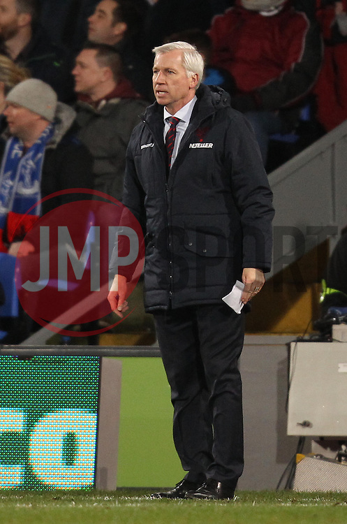 Crystal Palace Manager Alan Pardew - Photo mandatory by-line: Robbie Stephenson/JMP - Mobile: 07966 386802 - 14/02/2015 - SPORT - Football - London - Selhurst Park - Crystal Palace v Liverpool - FA Cup - Fifth Round