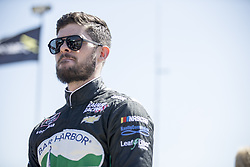 April 28, 2018 - Talladega, Alabama, United States of America - Ryan Truex (11) hangs out on pit road with his team prior to taking to the track to qualify for the Spark Energy 300 at Talladega Superspeedway in Talladega, Alabama. (Credit Image: © Justin R. Noe Asp Inc/ASP via ZUMA Wire)