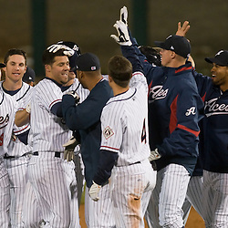 Aces win, 2010. Photo by David Calvert/Reno Aces