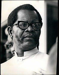 Feb. 28, 2012 - Credit: Camerapix Oliver Tambo, President of the African National Congress of South Africa. Born 1917. Educated Fort Here University. Banned from attending meetings, 1954, 1959. Arrested for treason, 1956. Released, 1957. Deputy President ANC, 1958. President, 1967. Head of External Mission of ANC. (Credit Image: © Keystone Pictures USA/ZUMAPRESS.com)