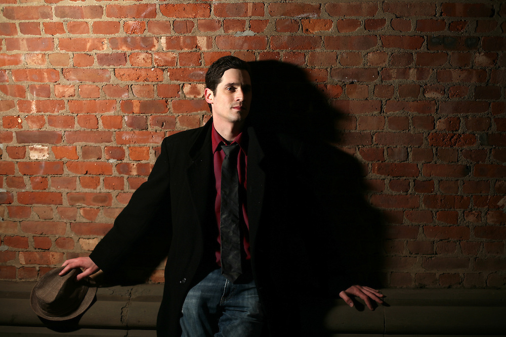 Lawyer and Actor Adam D. Scheinman in Brooklyn, New York. 2011