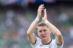 21.06.2016, Parc de Princes, Paris, FRA, UEFA Euro 2016, Nordirland vs Deutschland, Gruppe C, im Bild Bastian Schweinsteiger (GER) // Bastian Schweinsteiger (GER) during Group C match between Nothern Ireland and Germany of the UEFA EURO 2016 France at the Parc de Princes in Paris, France on 2016/06/21. EXPA Pictures © 2016, PhotoCredit: EXPA/ JFK