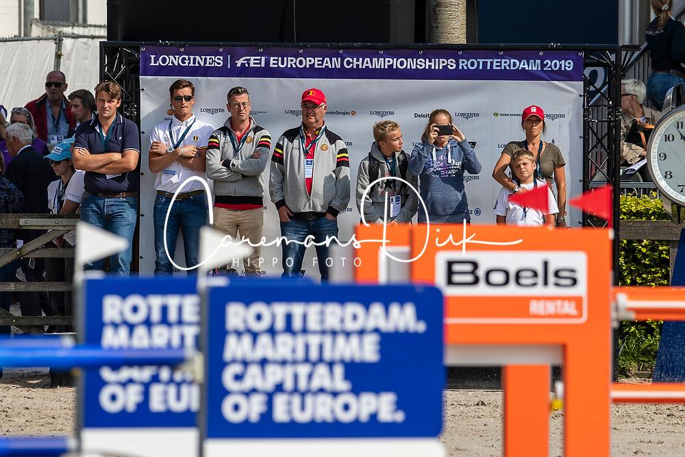 Guery Jerome, BEL, Quel Homme de Hus<br /> European Championship Jumping<br /> Rotterdam 2019<br /> © Dirk Caremans<br /> Guery Jerome, BEL, Quel Homme de Hus