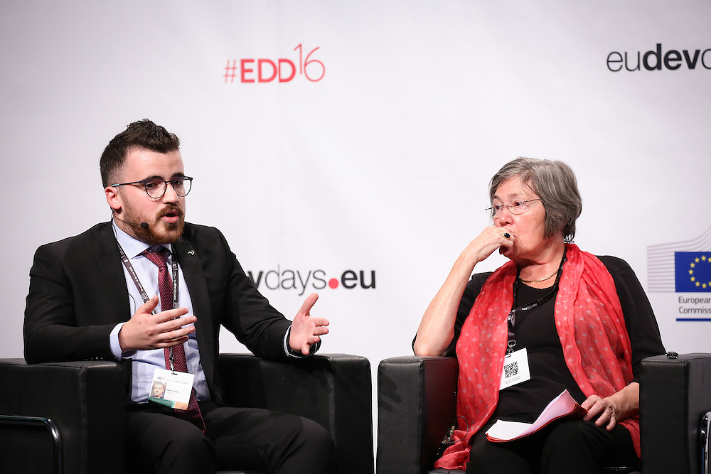 20160615 - Brussels , Belgium - 2016 June 15th - European Development Days - My city , my right - Towards inclusive and equitable urban spaces for women - Abbas Sbeity , Young Leader - Inclusive , Sustainable and Resilient Cities , Lebanon © European Union