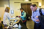 The Linux Foundation hosts its Open Daylight Developer Design Forum at San Mateo Marriott in San Mateo, California, on February 29, 2016. (Stan Olszewski/SOSKIphoto)