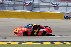 September 14, 2018 - Las Vegas, NV, U.S. - LAS VEGAS, NV - SEPTEMBER 14: Justin Allgaier (7) JR Motorsports Chevrolet Camaro ZL1 in action during practice for the DC Solar 300 NASCAR Xfinity Series Playoff Race on September 14, 2018, at Las Vegas Motor Speedway in Las Vegas, NV. (Photo by David Griffin/Icon Sportswire) (Credit Image: © David Griffin/Icon SMI via ZUMA Press)