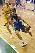 DESCRIZIONE : 6 Luglio 2013 Under 18 maschile<br /> Torneo di Cisternino Italia Ucraina<br /> GIOCATORE : Vittorio Nobile<br /> CATEGORIA : <br /> SQUADRA : Italia Under 18<br /> EVENTO : 6 Luglio 2013 Under 18 maschile<br /> Torneo di Cisternino Italia Ucraina<br /> GARA : Italia Under 18 Ucraina <br /> DATA : 6/07/2013<br /> SPORT : Pallacanestro <br /> AUTORE : Agenzia Ciamillo-Castoria/GiulioCiamillo<br /> Galleria : <br /> Fotonotizia : 6 Luglio 2013 Under 18 maschile<br /> Torneo di Cisternino Italia Ucraina<br /> Predefinita :