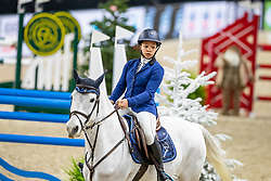 Dindane Rania, BEL, Moonfighter Machiavelli<br /> Jumping Mechelen 2019<br /> © Hippo Foto - Dirk Caremans<br />  27/12/2019