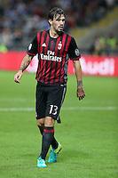 Milano 20.09.2016 - Serie A 2016-17 - 5a giornata - Milan-Lazio - Nella foto: Alessio Romagnoli  - Milan