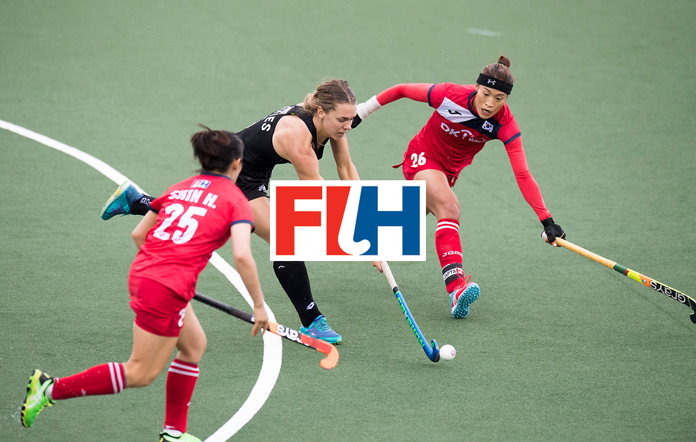 AUCKLAND - Sentinel Hockey World League final women<br /> Match id 10295<br /> 05 New Zealand  v Korea<br /> Foto: <br /> WORLDSPORTPICS COPYRIGHT FRANK UIJLENBROEK