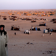An elderly man, Western Sahara refugee camps, Algeria