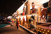 Side view of Museum Life by Shambles CC at the 2010 Bridgwater Guy Fawkes Carnival.