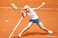 Daria Gavrilova during the Madrid Open at Manzanares Park Tennis Centre, Madrid<br /> Picture by EXPA Pictures/Focus Images Ltd 07814482222<br /> 05/05/2016<br /> ***UK & IRELAND ONLY***<br /> EXPA-ESP-160505-0075.jpg