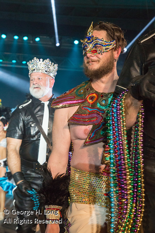 Lords of Leather Bal Masque at the Alario Center in Westwego, Louisiana on February 7, 2016