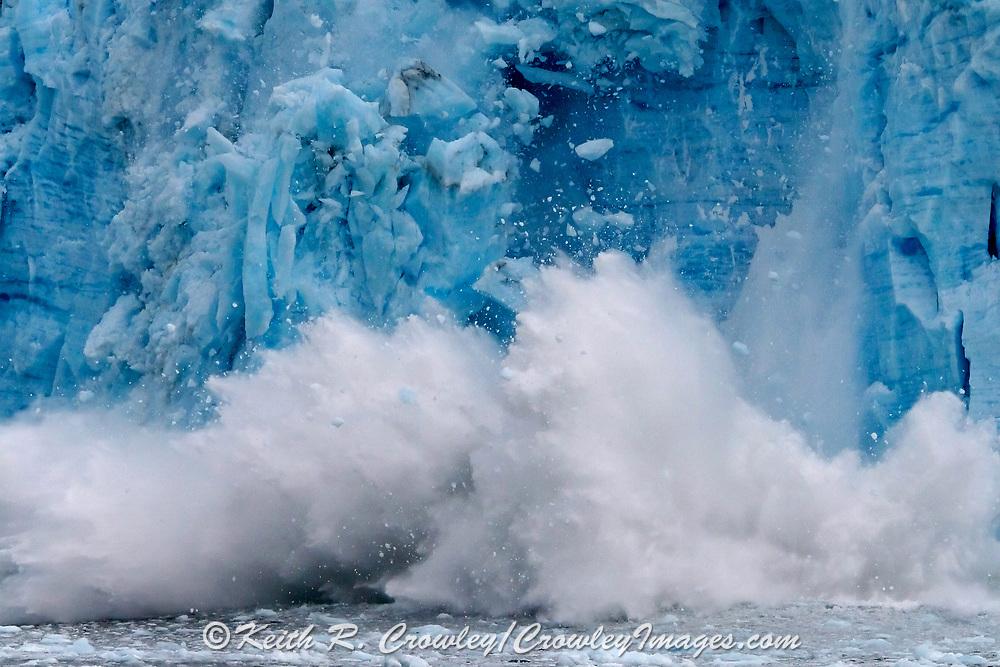 Glacier calving in Kenai Fjords National Park.