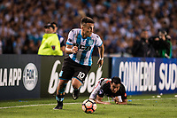 AVELLANEDA, BUENOS AIRES, ARGENTINA - 2017 NOVEMBER 01. Racing Club (10) Lautaro Martínez during the Copa Sudamericana quarter-finals 2nd leg match between Racing Club de Avellaneda and Club Libertad at Estadio Juan Domingo Perón,  <br /> ( Photo by Sebastian Frej )