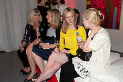 ANN HICKS; DENISE ELPHICK; CAMILLA ELPHICK; JANET CHRISTENSEN, Tunnel of Love. Funfair party The Mending Broken Hearts appeal In aid of the British Heart Foundation. Victoria House, Bloomsbury. London. 17 May 2011. <br /> <br />  , -DO NOT ARCHIVE-© Copyright Photograph by Dafydd Jones. 248 Clapham Rd. London SW9 0PZ. Tel 0207 820 0771. www.dafjones.com.