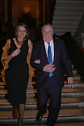 Sir Frederick and Lady Forsyth . Everyman's Centenary Party. The Fine Rooms. Royal Academy. London. 15 February 2006. dddONE TIME USE ONLY - DO NOT ARCHIVE  © Copyright Photograph by Dafydd Jones 66 Stockwell Park Rd. London SW9 0DA Tel 020 7733 0108 www.dafjones.com