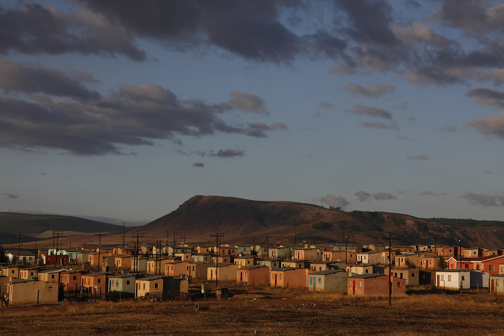 Reconstruction and Development Program- RDP Housing. Transkei, Easten Cape. South Africa. ©www.lightfootphoto.com