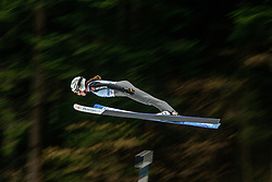 SEYFARTH Juliane (GER) during first round on day 2 of  FIS Ski Jumping World Cup Ladies Ljubno 2020, on February 23th, 2020 in Ljubno ob Savinji, Ljubno ob Savinji, Slovenia. Photo by Matic Ritonja / Sportida