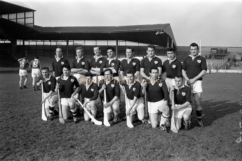 24/02/1963<br /> 02/24/1963<br /> 24 February 1963<br /> Railway Cup Semi-Final: Leinster v Connacht at Croke Park, Dublin.<br /> Connacht team.