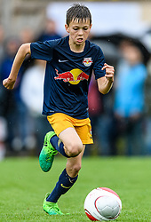 04.06.2017, Kaiserblick Arena, Reith, AUT, 20. Cordial Cup 2017, FC Bayern München vs FC Red Bull Salzburg, U11 Achtelfinale, im Bild Jakob Tomka (FC Red Bull Salzburg) // during the 20. Cordial Cup Under 11 second round match between FC Bayern München and FC Red Bull Salzburg at the Kaiserblick Arena, Reith, Austria on 2017/06/04. EXPA Pictures © 2017, PhotoCredit: EXPA/ Stefan Adelsberger