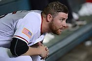 PHOENIX, AZ - JULY 04:  Archie Bradley #25 of the Arizona Diamondbacks watches the game against the San Diego Padres from the dugout in the first inning at Chase Field on July 4, 2016 in Phoenix, Arizona.  (Photo by Jennifer Stewart/Getty Images)