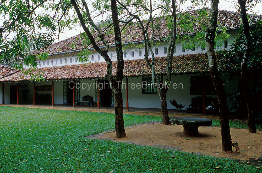 The renovation to The Stables at Horagolla were done by architect Geoffrey Bawa.