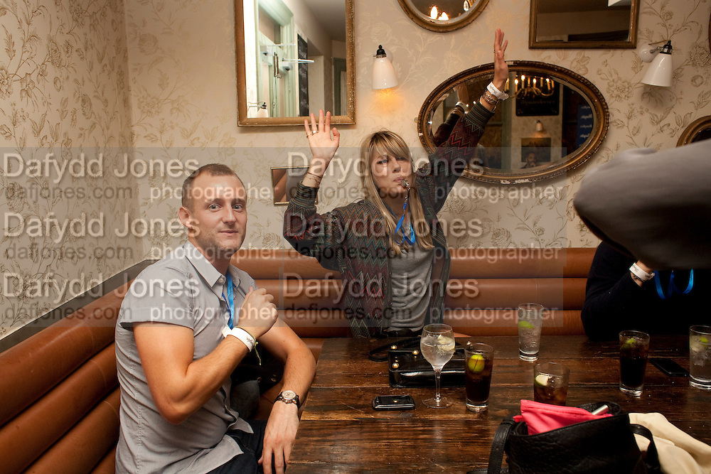JAMES HELLEN; NATALIE HARTLEY;  , WranglerÕs Nottinghill Carnival Party at the Bumpkin restaurant.  Westbourne Park Rd. London W1. 28 August 2011. <br /> <br />  , -DO NOT ARCHIVE-© Copyright Photograph by Dafydd Jones. 248 Clapham Rd. London SW9 0PZ. Tel 0207 820 0771. www.dafjones.com.<br /> JAMES HELLEN; NATALIE HARTLEY;  , Wrangler's Nottinghill Carnival Party at the Bumpkin restaurant.  Westbourne Park Rd. London W1. 28 August 2011. <br /> <br />  , -DO NOT ARCHIVE-© Copyright Photograph by Dafydd Jones. 248 Clapham Rd. London SW9 0PZ. Tel 0207 820 0771. www.dafjones.com.