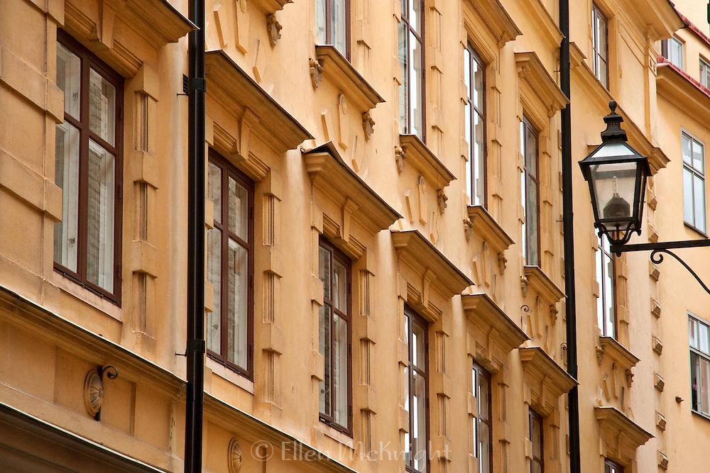 Architecture in Gamla Stan, Stockholm, Sweden