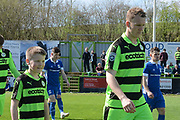 Ambassadors during the Vanarama National League match between Forest Green Rovers and North Ferriby United at the New Lawn, Forest Green, United Kingdom on 1 April 2017. Photo by Alan Franklin.